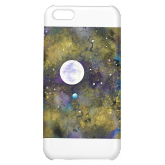 full moon in outer space iPhone 5C cover