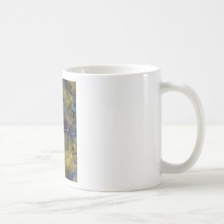 full moon in outer space mug