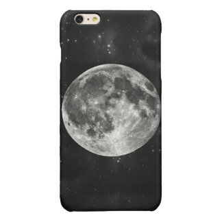 Full Moon in the Sky Glossy iPhone 6 Plus Case
