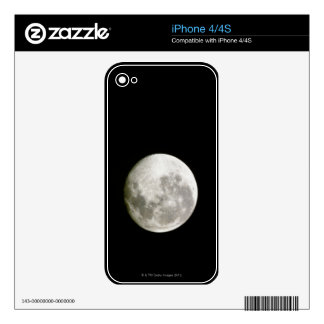 Full Moon iPhone 4 Skin