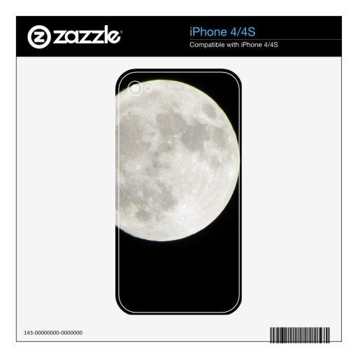 Full Moon iPhone 4s Skin