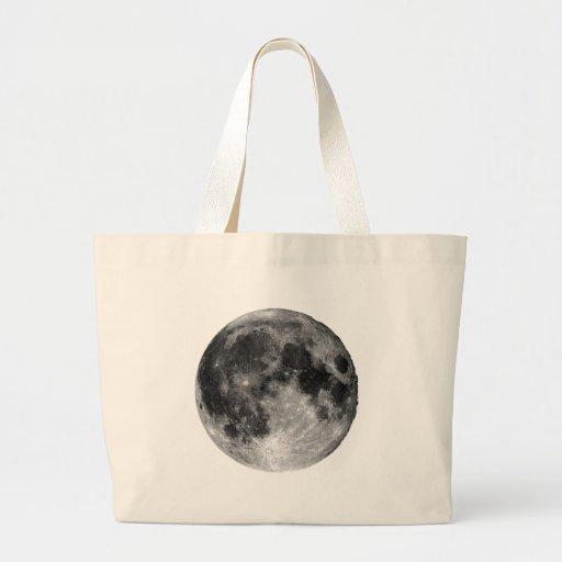 Full Moon Jumbo Tote Bag