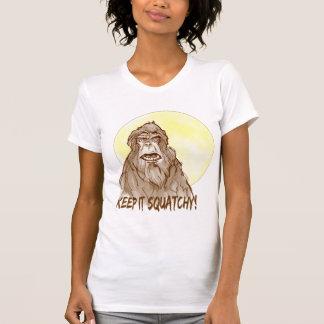 Full Moon KEEP IT SQUATCHY - Bigfoot Researcher's Shirts
