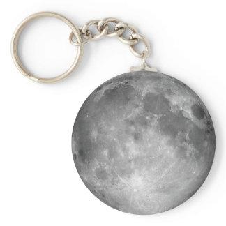 Full Moon Keychain