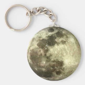 Full moon Keychain. Keychain