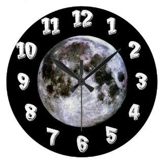 Full Moon Large Clock