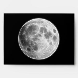 Full Moon Lunar Planet Globe Envelope