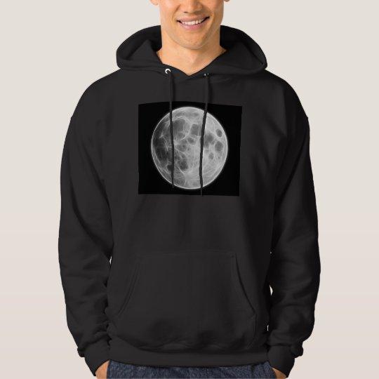 Full Moon Lunar Planet Globe Hoodie