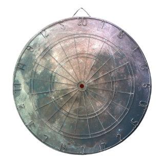 Full Moon Lunar Surface Astronomy Dartboard
