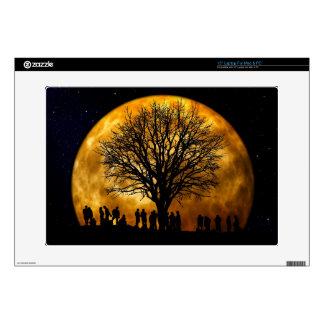 Full Moon Midnight Laptop and Netbook Skin