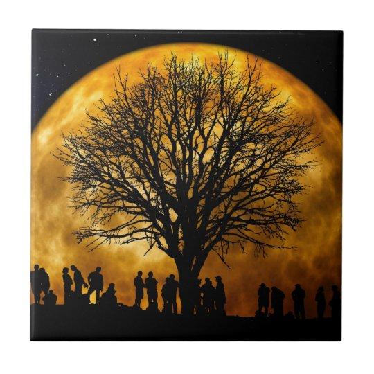 Full Moon Midnight tile