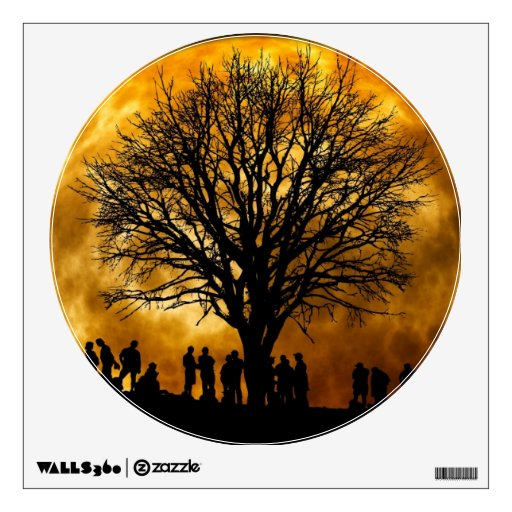 Full Moon Midnight Wall Decal