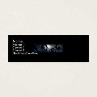Full Moon Mini Business Card
