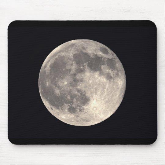 Full Moon Mousepad