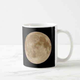 full moon classic white coffee mug