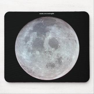 FULL MOON NASA & APOLLO SPACE Photo Mouse Pad