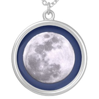 Full Moon Necklace necklace