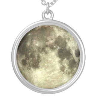 Full moon necklace.