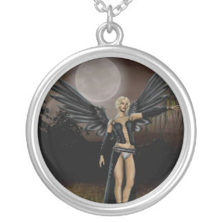 Full Moon (Necklace/Pendant) Round Pendant Necklace