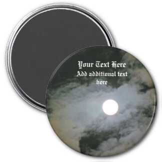 Full Moon Night Sky Personalized Magnets