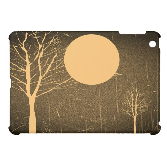 Full Moon Night Vintage iPad Mini Cases