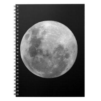 Full Moon Note Books