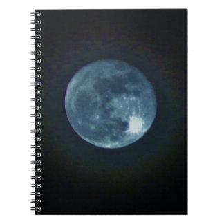 Full Moon Notebook