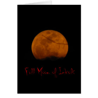 Full Moon of Imbolc Greeting Card