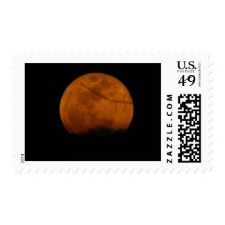 Full Moon of Imbolc Postage Stamp