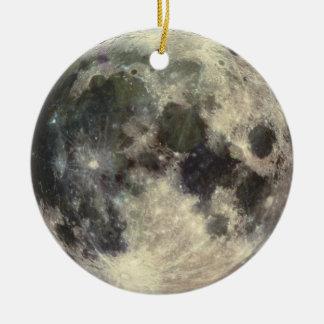 Full Moon Christmas Ornaments
