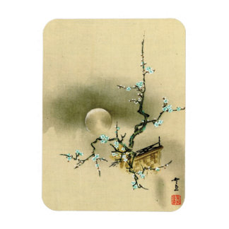 Full Moon over Blossoming Branch 1895 Magnet