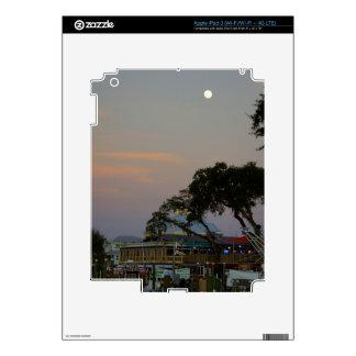 Full Moon Over Homosassa iPad 3 Skin