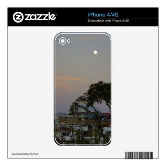Full Moon Over Homosassa iPhone 4 Skin