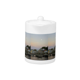 Full Moon Over Homosassa Springs Teapot