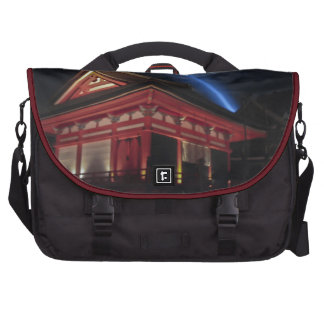 Full Moon Over Kiyomizu-Dera Bag For Laptop