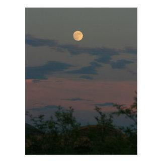 Full Moon over Scottsdale Postcard
