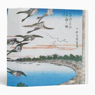 Full Moon over Takanawa, by Utagawa Hiroshige Binder
