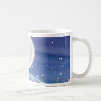 Full Moon over the Pond Coffee Mug