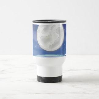Full Moon over the Pond Travel Mug