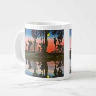 Full Moon Over Viga Canal 1912 Giant Coffee Mug