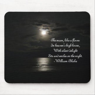 Full Moon over Water Mouse Pad