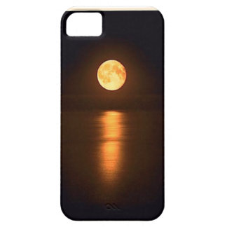 full moon over water on iphone case iPhone 5 case