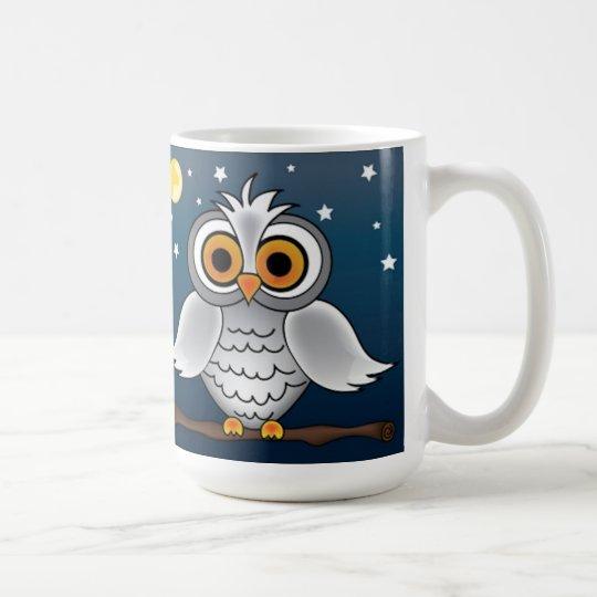 Full Moon Owl Coffee Mug