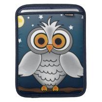 Full Moon Owl iPad Sleeve