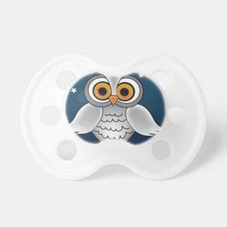 Full Moon Owl Pacifier