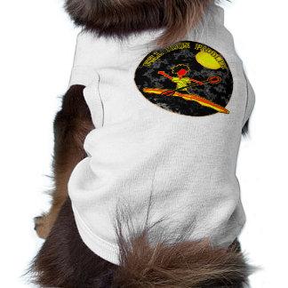 Full Moon Paddler Kayaking Canoeing Doggie Tee Shirt