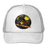 Full Moon Paddler Kayaking Canoeing Hats