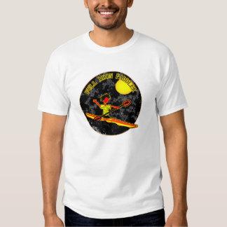 Full Moon Paddler Kayaking Canoeing Shirt