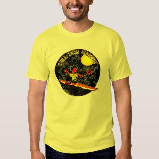 Full Moon Paddler Kayaking Canoeing Shirts