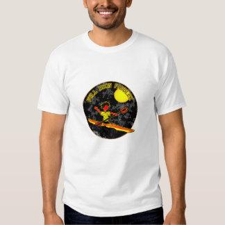 Full Moon Paddler Kayaking Canoeing T-shirt